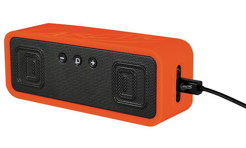 Arctic Portable Bluetooth Speaker with NFC pairing Orange