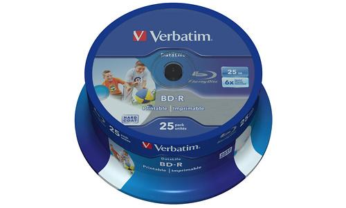Verbatim BD-R Printable 6x 25x Spindle
