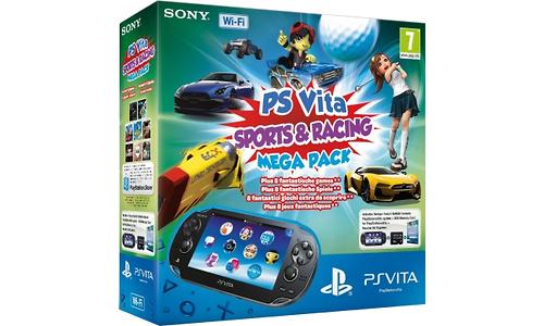 Sony PlayStation Vita + Sports & Racing Mega Pack