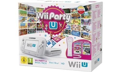 Nintendo Wii U Premium Black + Wii Party U