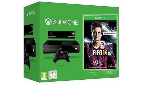 Microsoft Xbox One 500GB + Fifa 14