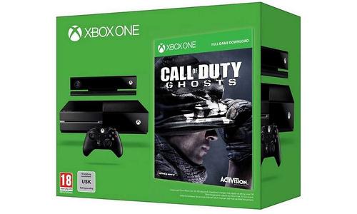 Microsoft Xbox One 500GB + Call of Duty: Ghosts
