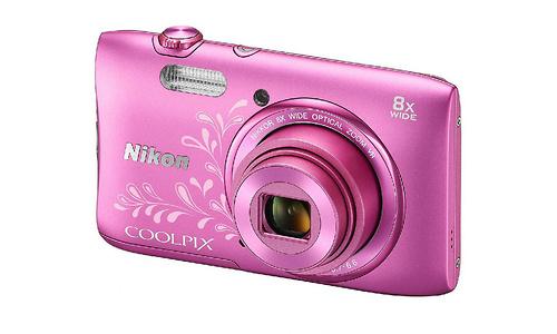 Nikon Coolpix S3600 Pink Line art