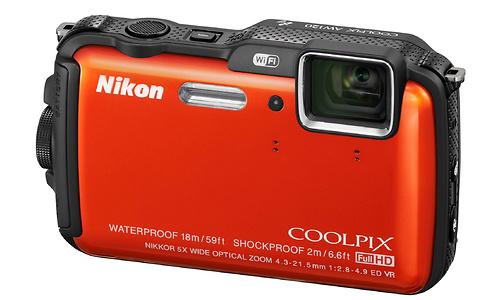 Nikon Coolpix AW120 Orange