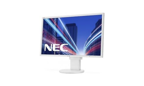 NEC MultiSync E243WMi White