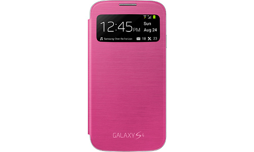 Samsung S-View Cover Pink (Galaxy S4)