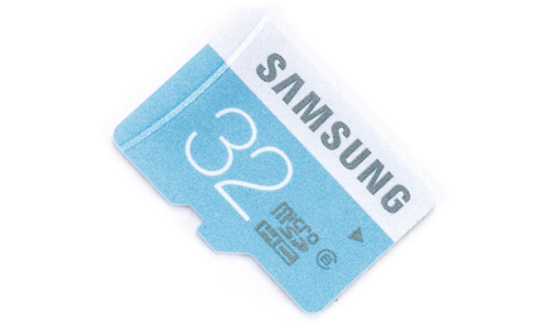 Samsung Standard MicroSDHC Class 6 32GB + Adapter