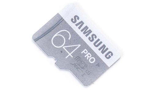 Samsung Pro MicroSDXC UHS-I 64GB + Adapter