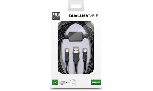 BigBen Double Charging USB Cable (Xbox One)