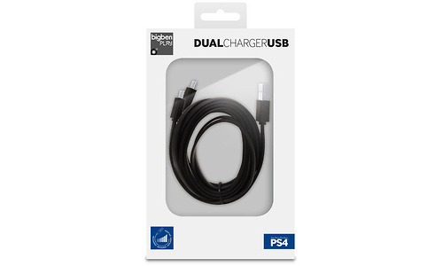 BigBen Double Charging USB Cable (PS4)