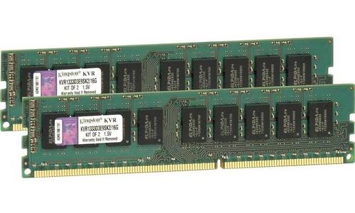 Kingston ValueRam 16GB DDR3-1333 CL9 ECC kit