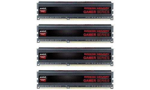 AMD Gamer Series 16GB DDR3-2133 CL10 quad kit