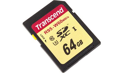 Transcend SDXC UHS-I U3 Ultimate 64GB