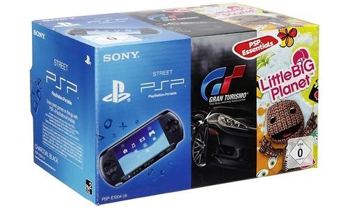 Sony PSP-E1000 + Gran Turismo + Little Big Planet