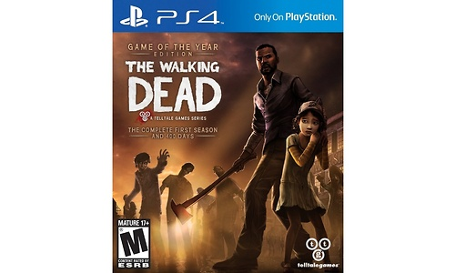 The Walking Dead: Season 1, 400 Days (PlayStation 4)