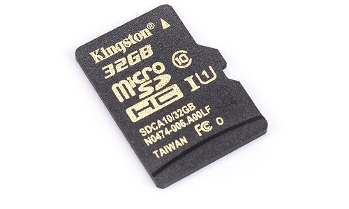 Kingston MicroSDHC UHS-I 32GB + Adapter
