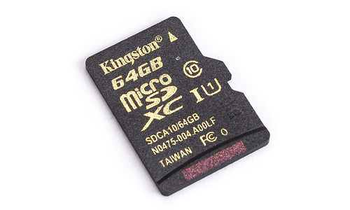 Kingston MicroSDXC UHS-I 64GB + Adapter