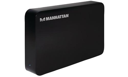 Manhattan SATA HDD Enclosure Black