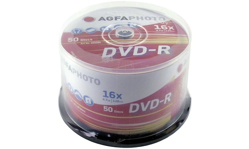 AgfaPhoto DVD-R 16x 50pk Spindle
