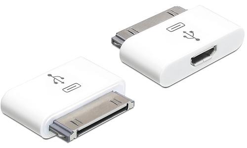 Delock iPhone/iPad 30-Pin to Micro-B USB