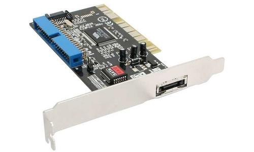 InLine 3-Port eSATA/SATA/IDE PCI Card