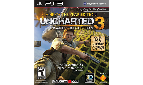 Uncharted 3: Drake's Deception, Game of the Year Edition (PlayStation 3)
