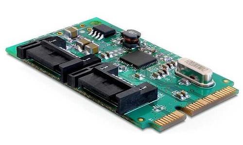 Delock 2-Port Mini PCI-e (Mini Card)