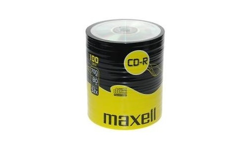 Maxell CD-R 52x 100pk Pack