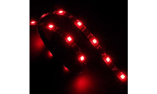 Akasa LED-Strip 15x 0.6M Red