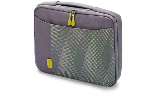 Dicota Bounce SlimCase Grey/Yellow 11.6""