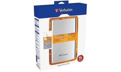 Verbatim Store 'n' Go Portable USB 3.0 1TB Silver