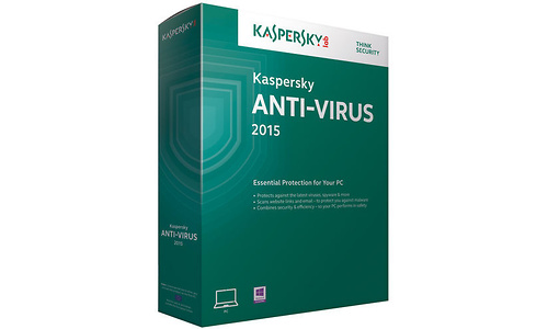 Kaspersky Anti-Virus 2015 1-user (1-year)