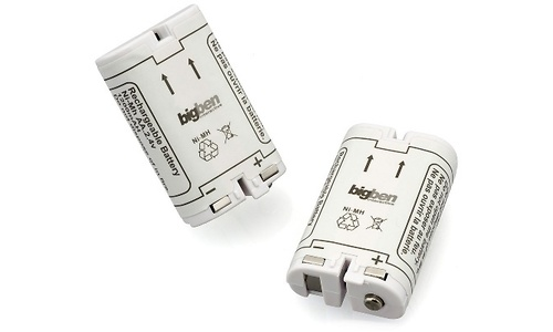 BigBen Battery Dual Pack Wii Remote