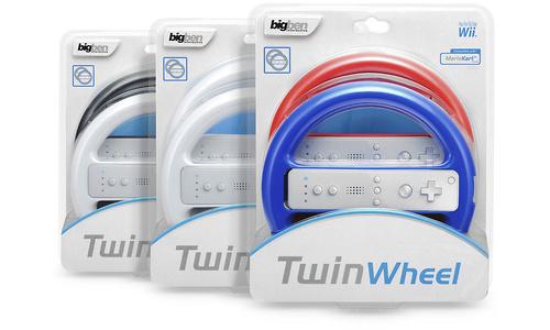 BigBen Mini Wheel Twin Pack (Wii)