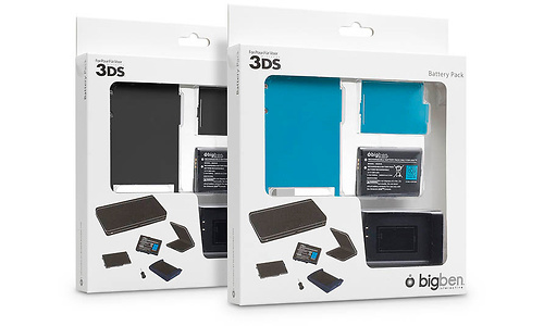 BigBen Charger + Battery + Cover (Nintendo 3DS)