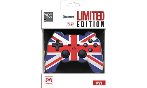 BigBen PS3 Controller Bluetooth UK Limited Edition