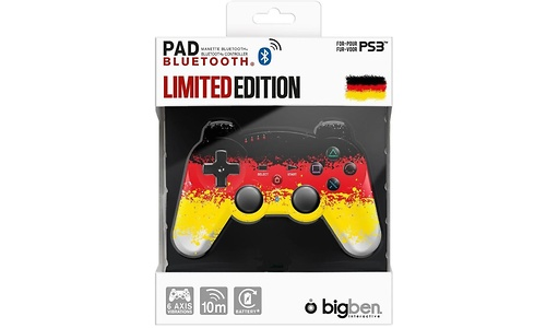 BigBen PS3 Controller Bluetooth Germany Limited Edition