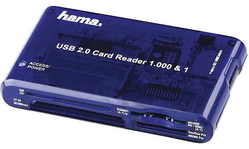 Hama USB 2.0 Card Reader 1000 & 1