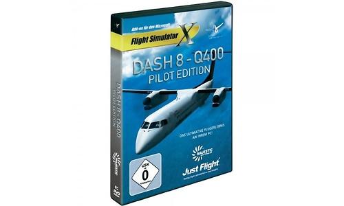 Flight Simulator X Dash 8 Q400 Pilot Edition Add-On (PC)