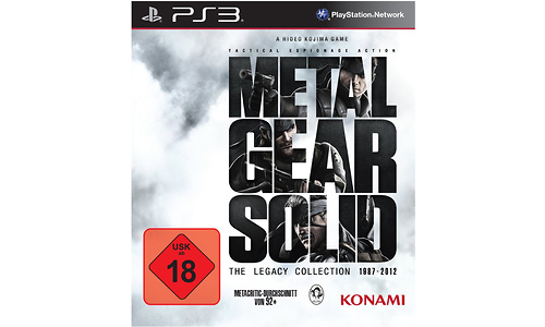 Metal Gear Solid The Legacy Collection (PlayStation 3)
