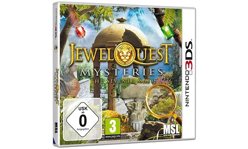 Jewel Quest Mysteries 3: The Seventh Gate (Nintendo 3DS)