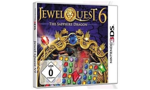 Jewel Quest 6 The Sapphire Dragon (Nintendo 3DS)