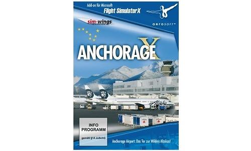 Flight Simulator X Anchorage X Add-On (PC)