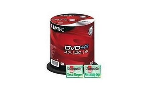 Emtec DVD+R 100pk Spindle