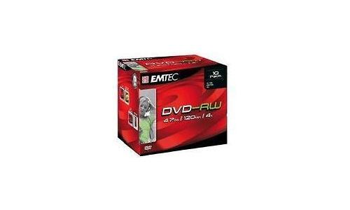 Emtec DVD-RW 4x 10pk Jewel Case