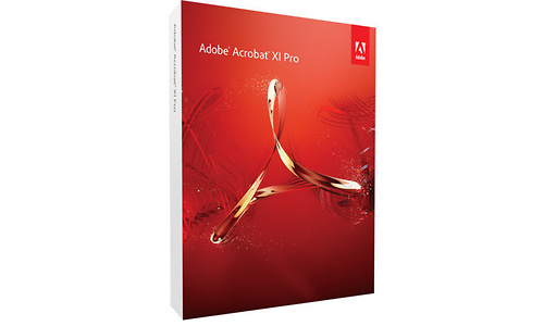 Adobe Acrobat XI Pro 11 for Mac (FR)