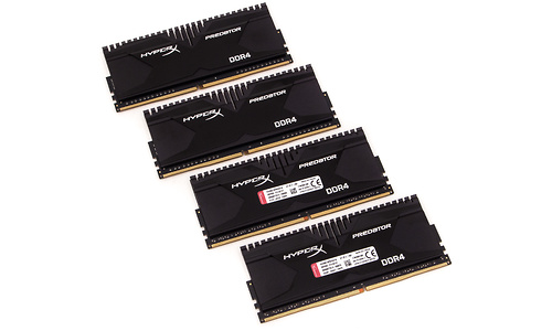 Kingston HyperX Predator 16GB DDR4-3000 CL15 quad kit