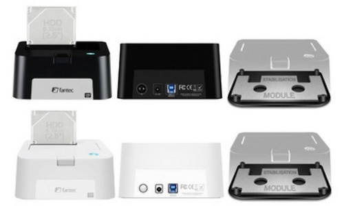 Fantec MR-USB 3.0 Docking Station White