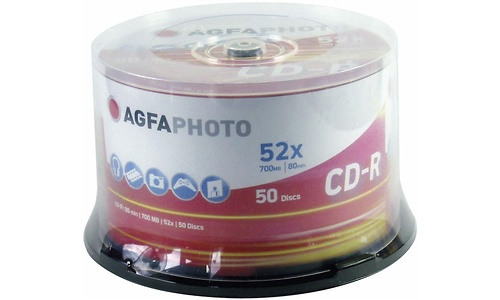 AgfaPhoto CD-R 52x 50pk Spindle