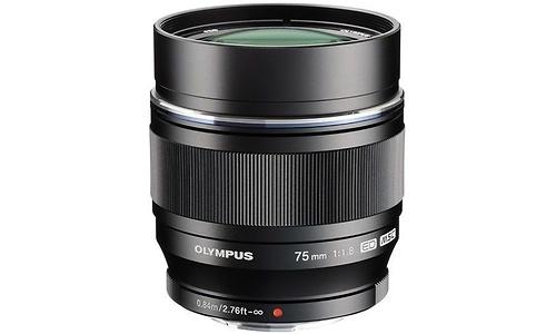 Olympus M.Zuiko Digital 75mm f/1.8 Black (Micro 4/3)